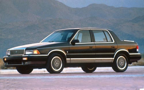 1990 Plymouth Acclaim #5