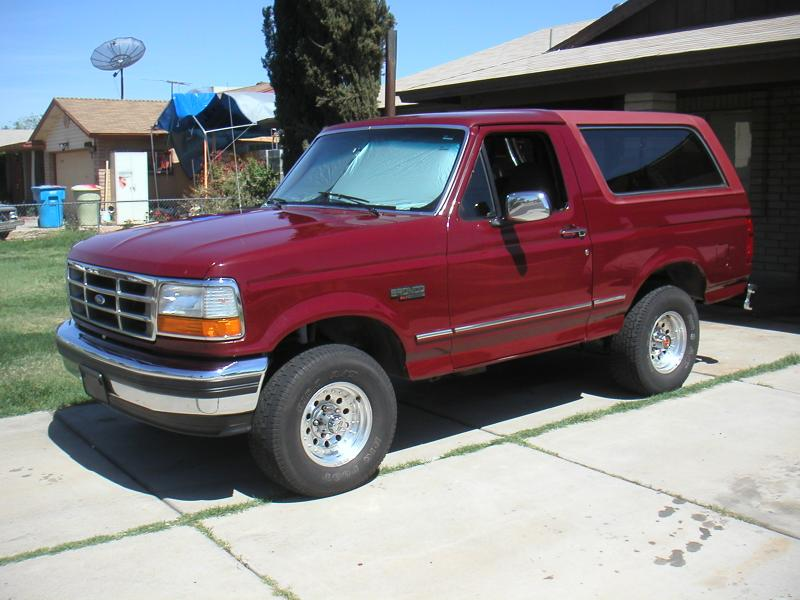 1993 Ford Bronco #14