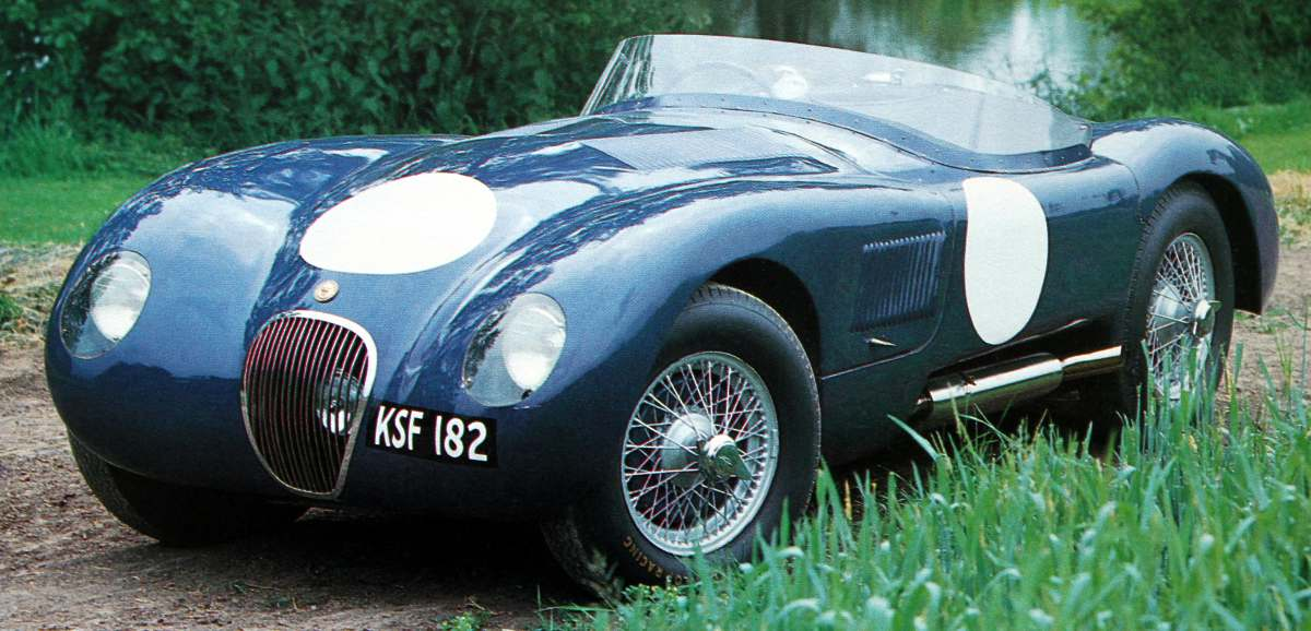 1951 Jaguar Type-C #12