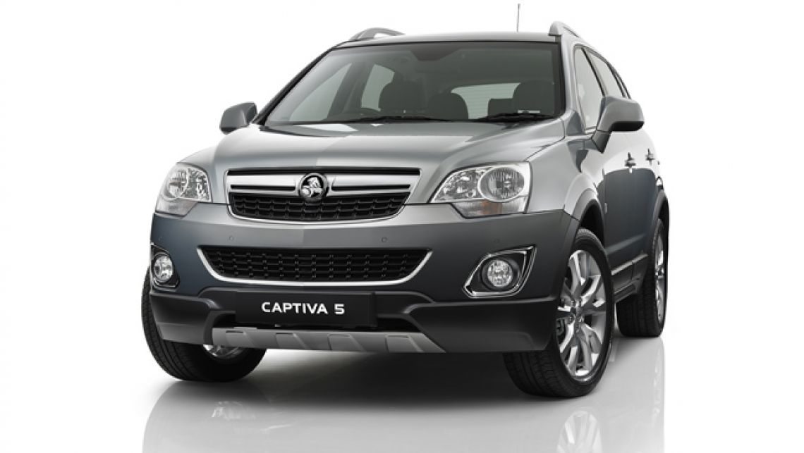 2012 Holden Captiva #4