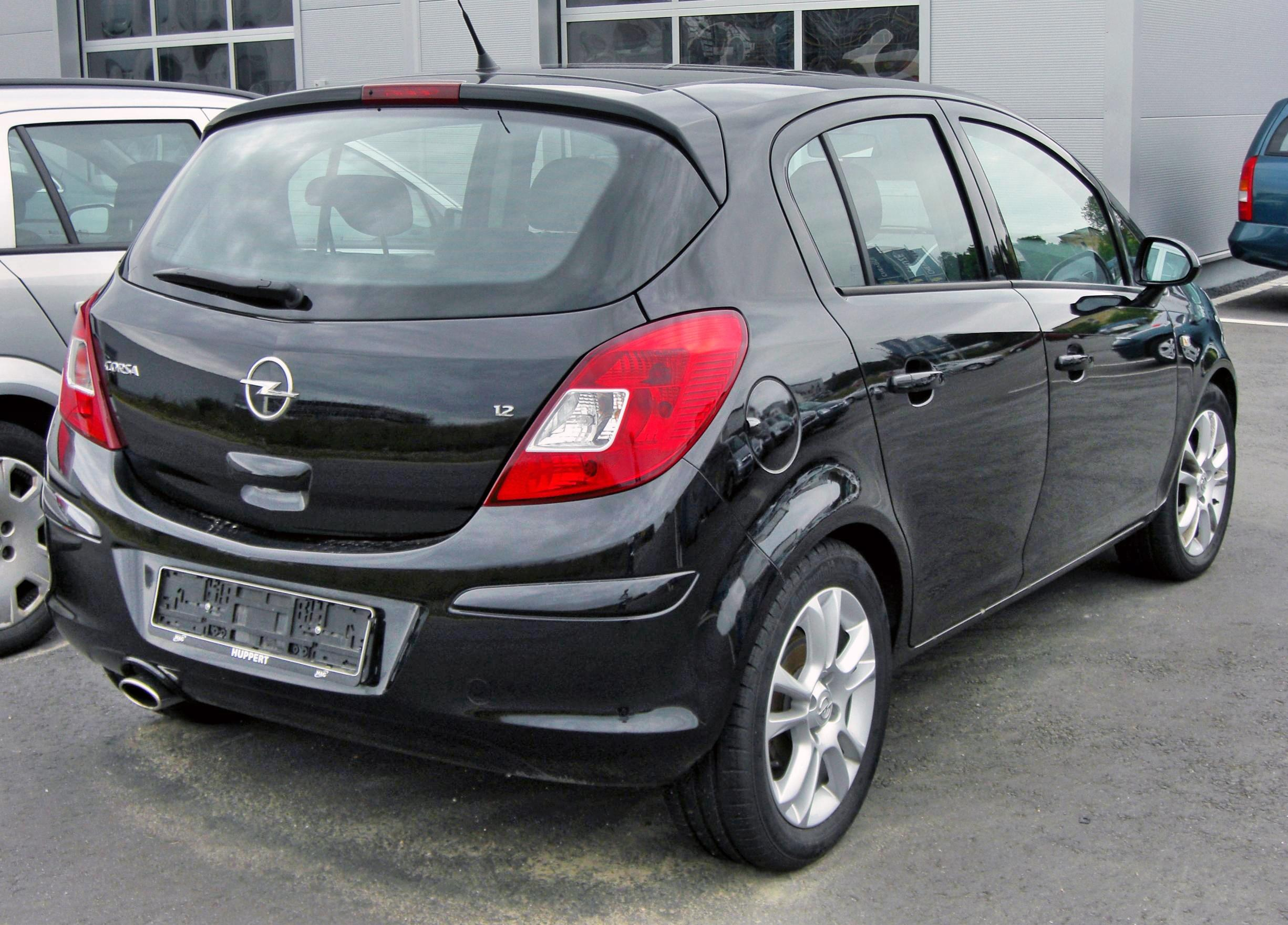 2009 opel corsa photos informations articles. Black Bedroom Furniture Sets. Home Design Ideas
