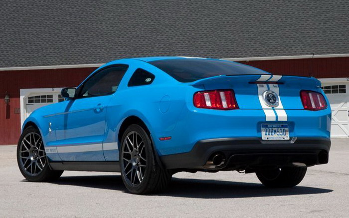 2011 Ford Shelby GT 500 #4