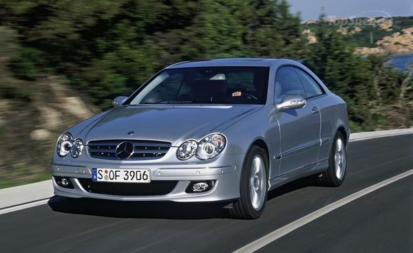2009 Mercedes-Benz CLK #4