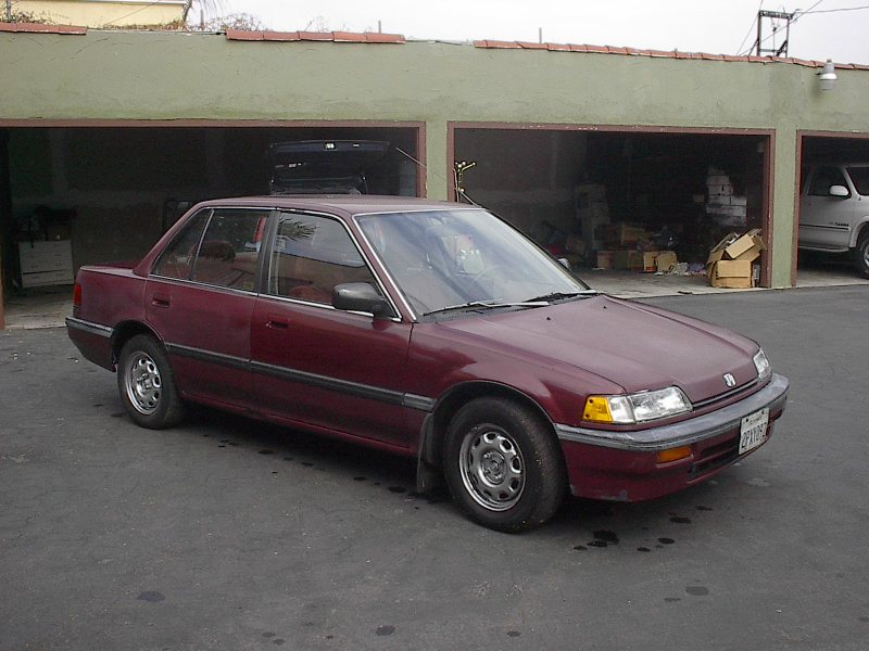 1991 Honda Civic #15