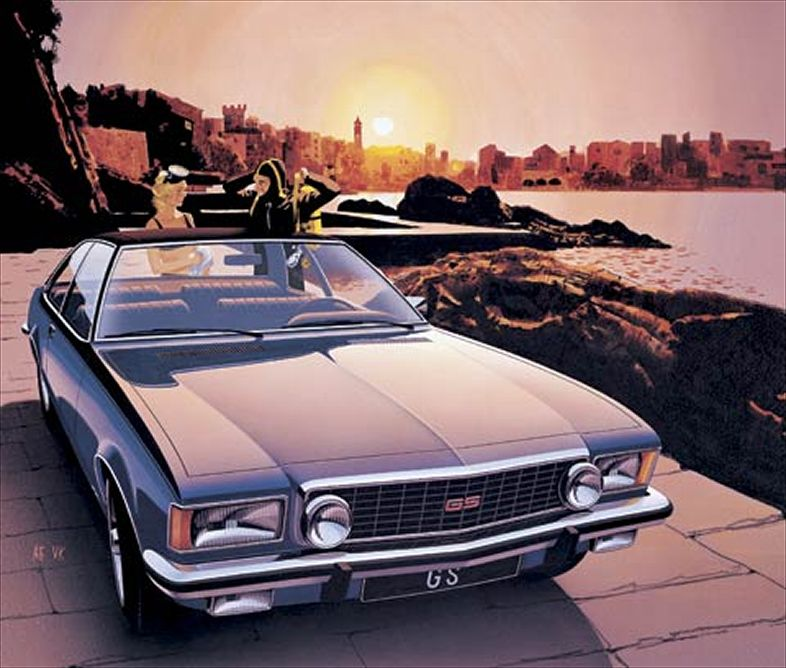 1972 Opel Commodore #10