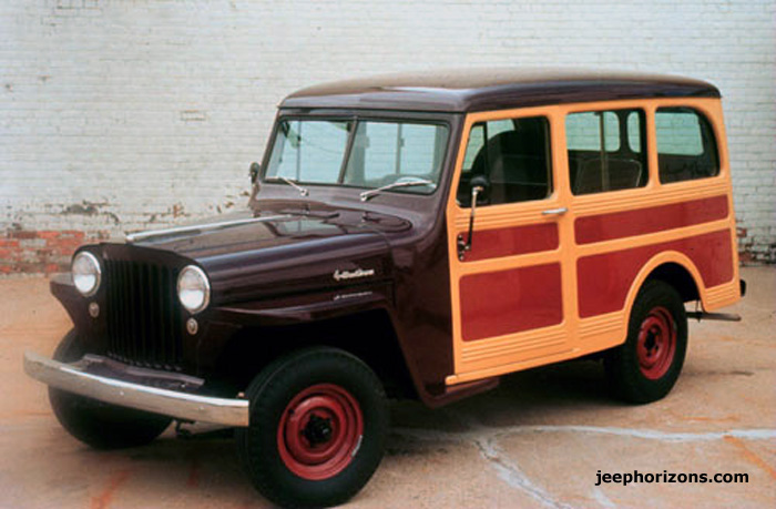 1948 Jeep Station Wagon #3
