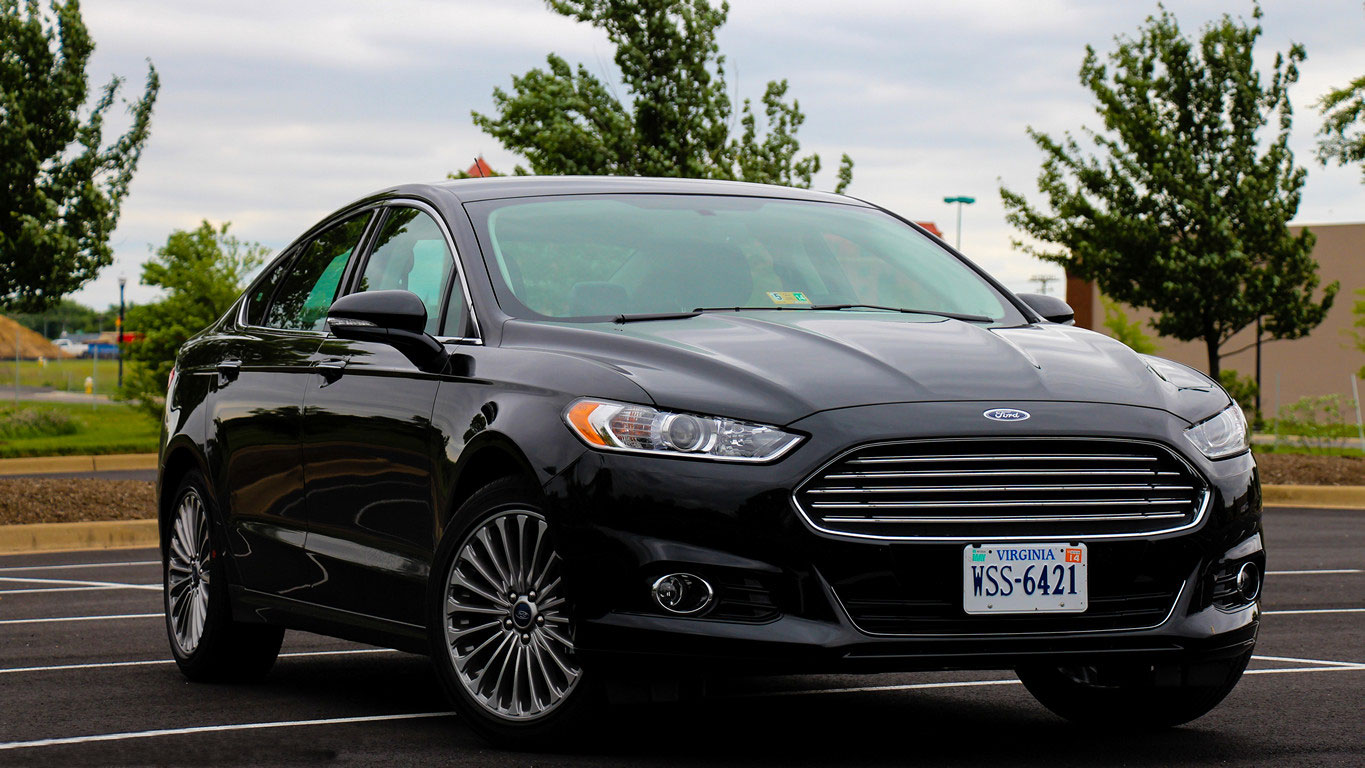 2015 Ford Fusion #15
