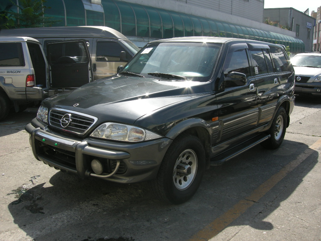 2002 Ssangyong Musso #2
