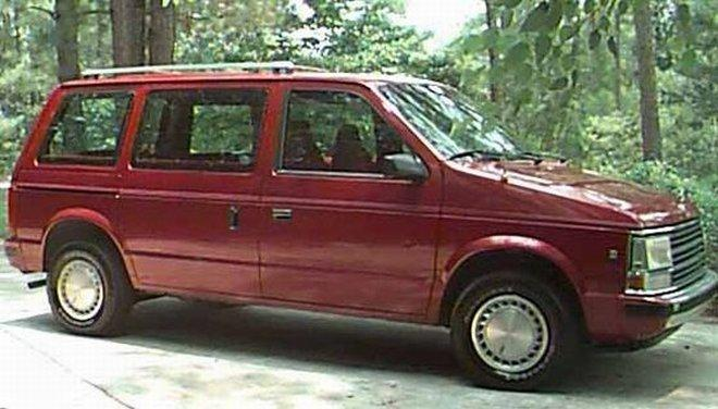 1990 Plymouth Grand Voyager #14