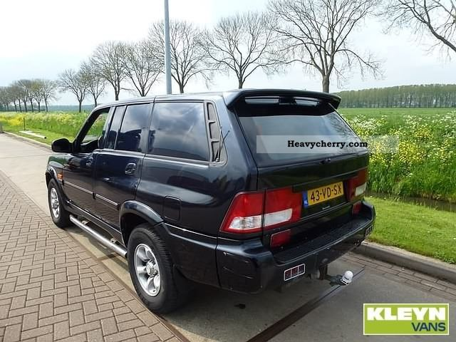 2007 Ssangyong Musso #15
