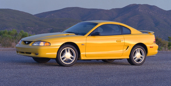 1994 Ford Mustang #10