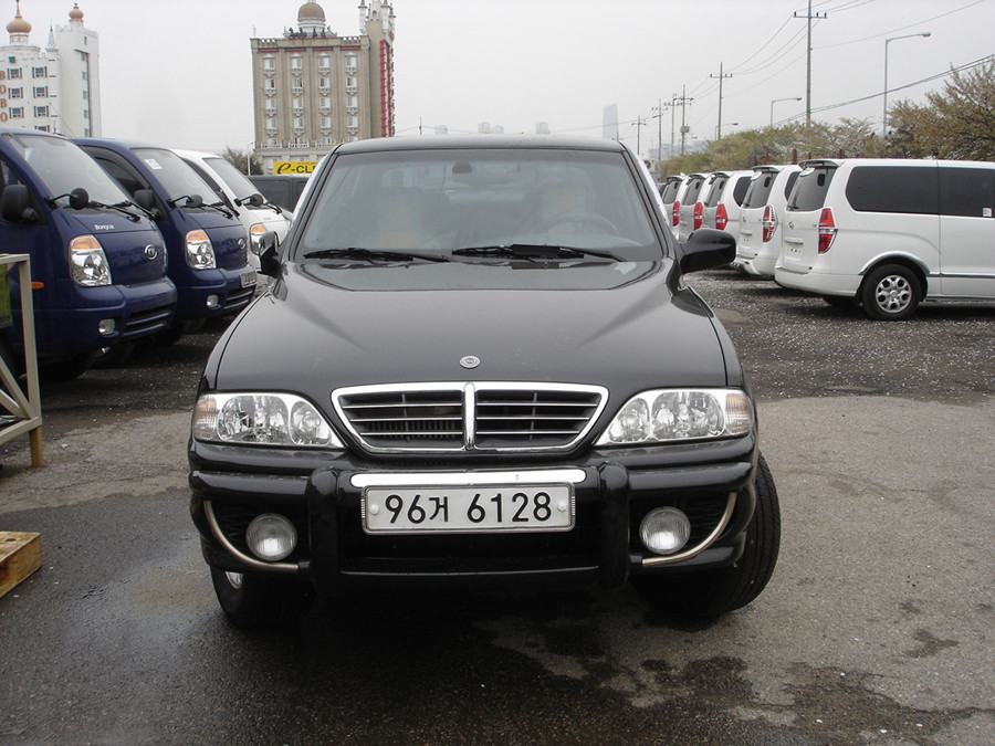 2005 Ssangyong Musso #5
