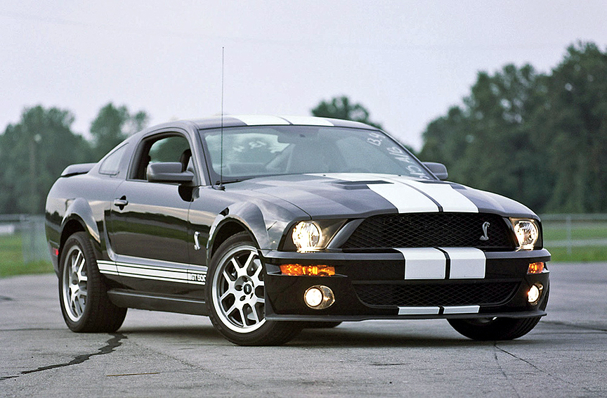 2007 Ford Shelby Gt500 #5