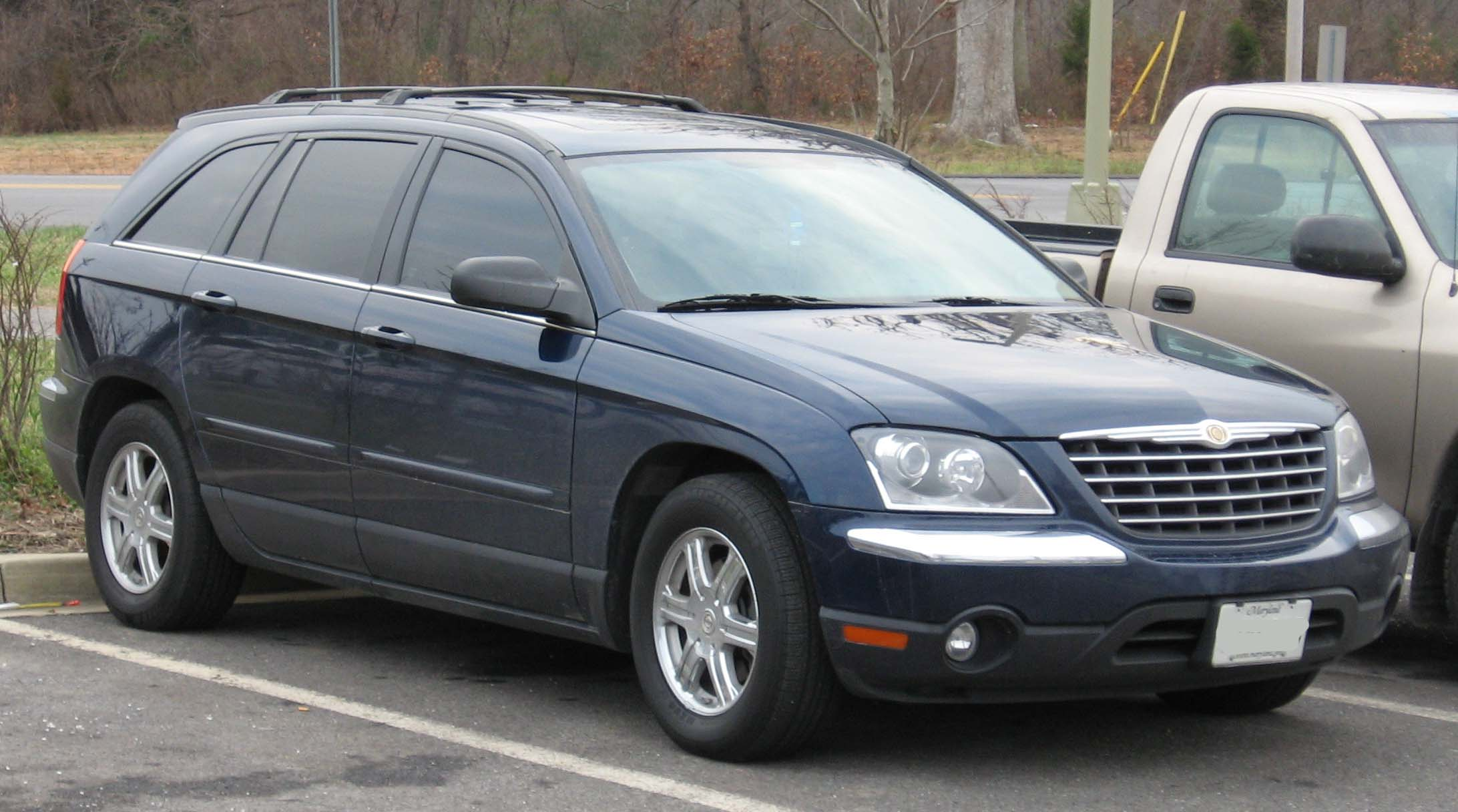 2008 Chrysler Pacifica #7
