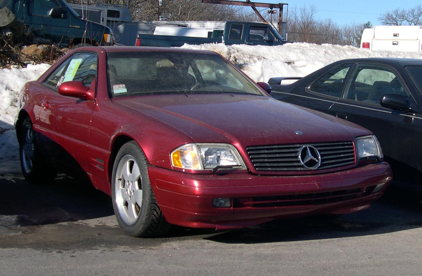 1990 Mercedes-Benz SL #7
