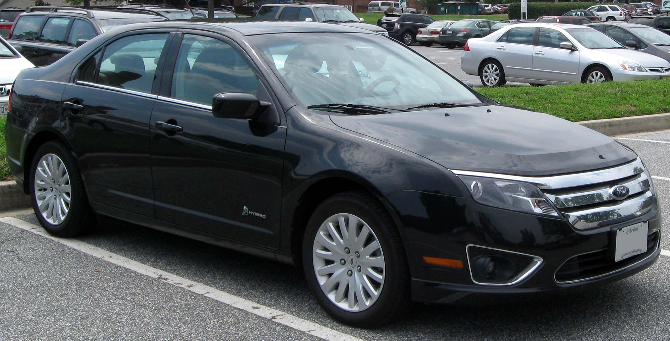 2010 Ford Fusion #7