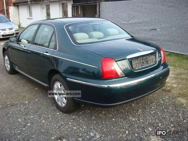 2001 rover 75 photos informations articles. Black Bedroom Furniture Sets. Home Design Ideas