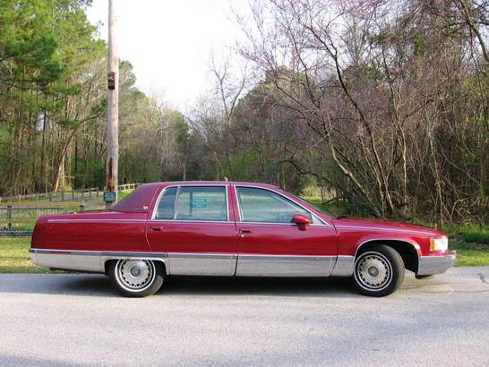 1994 cadillac fleetwood photos informations articles bestcarmag. Cars Review. Best American Auto & Cars Review