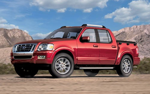 2007 Ford Explorer Sport Trac #4