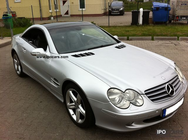 2004 Mercedes-Benz SL #17