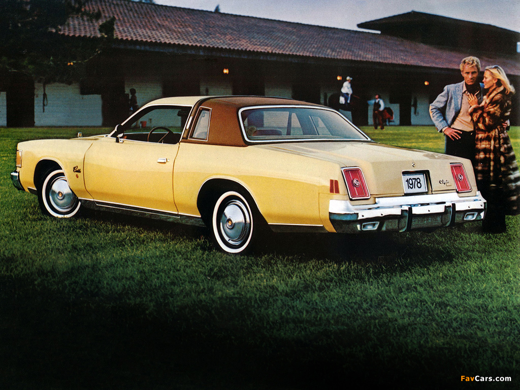 1978 Chrysler Cordoba #10