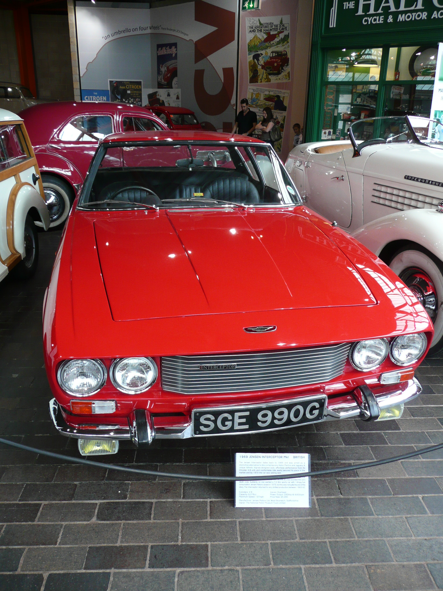 1969 Jensen Interceptor #15