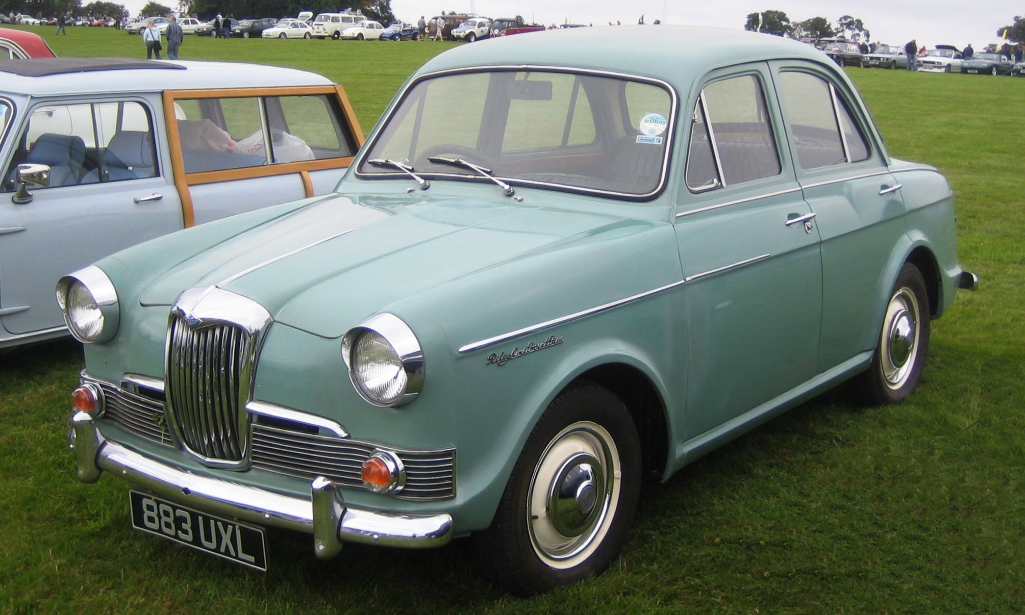 1962 Riley One-Point-Five #16