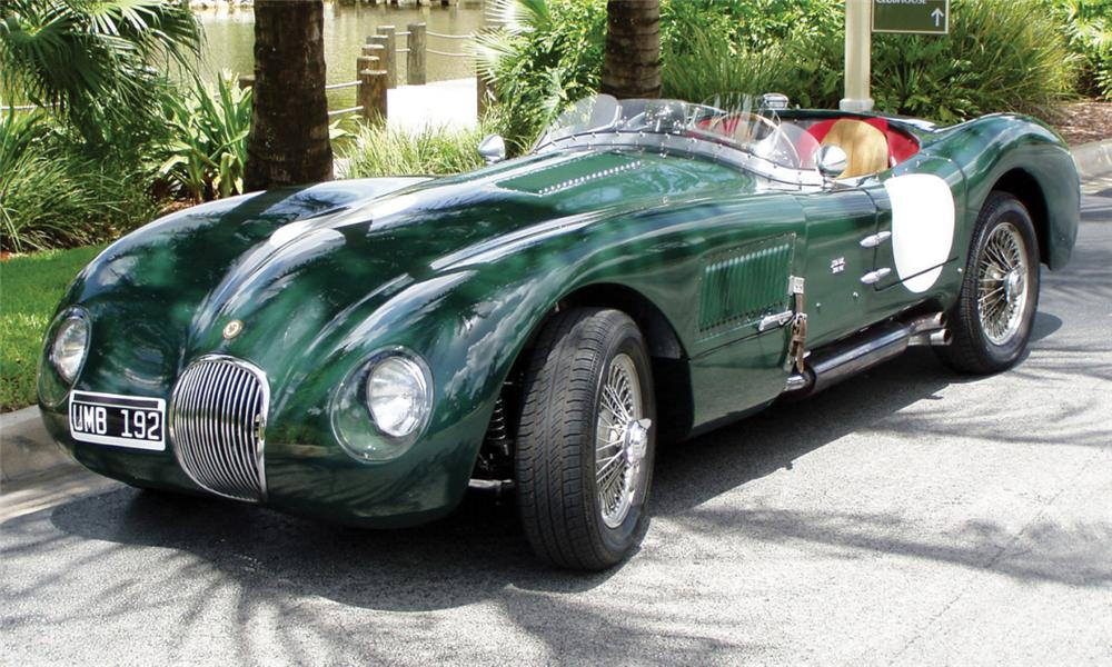 1953 Jaguar C-Type #9