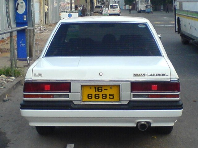 1986 Nissan Laurel #8