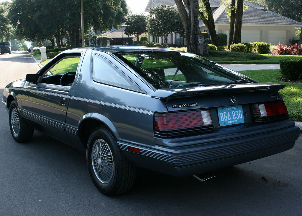 1984 Chrysler Laser #2