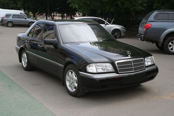 1996 mercedes benz c class photos informations articles for 1996 mercedes benz c class