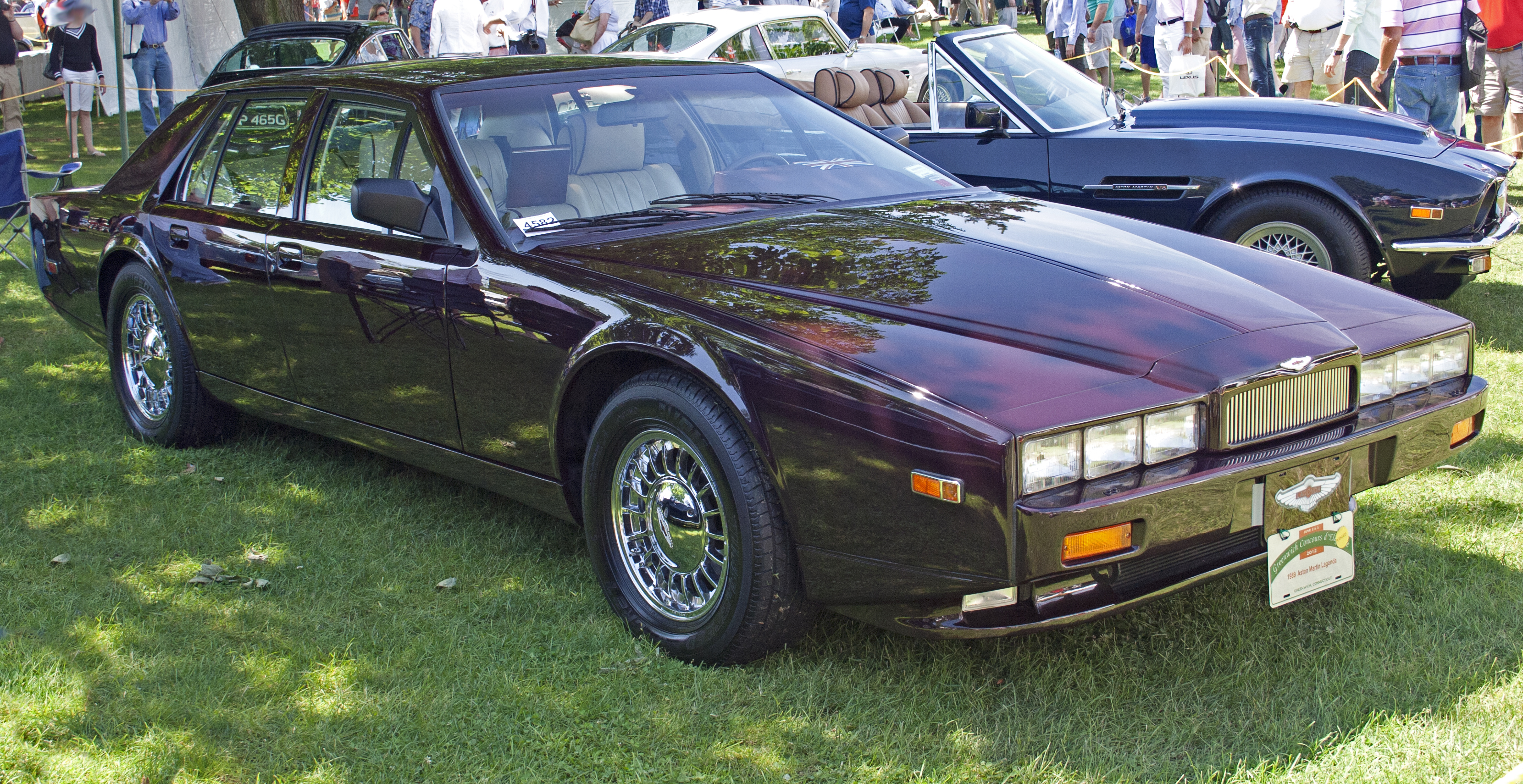 1989 Aston Martin Lagonda s Informations Articles