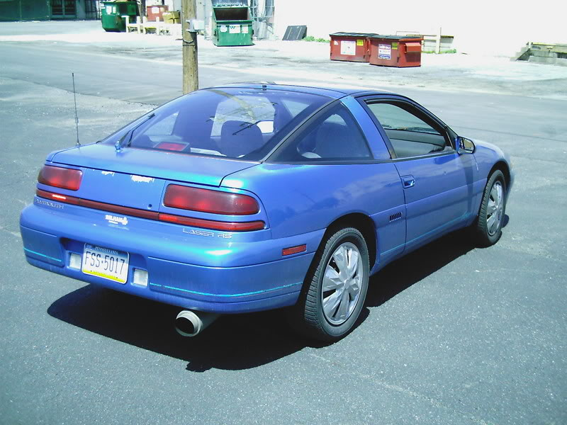 1993 Plymouth Laser #15