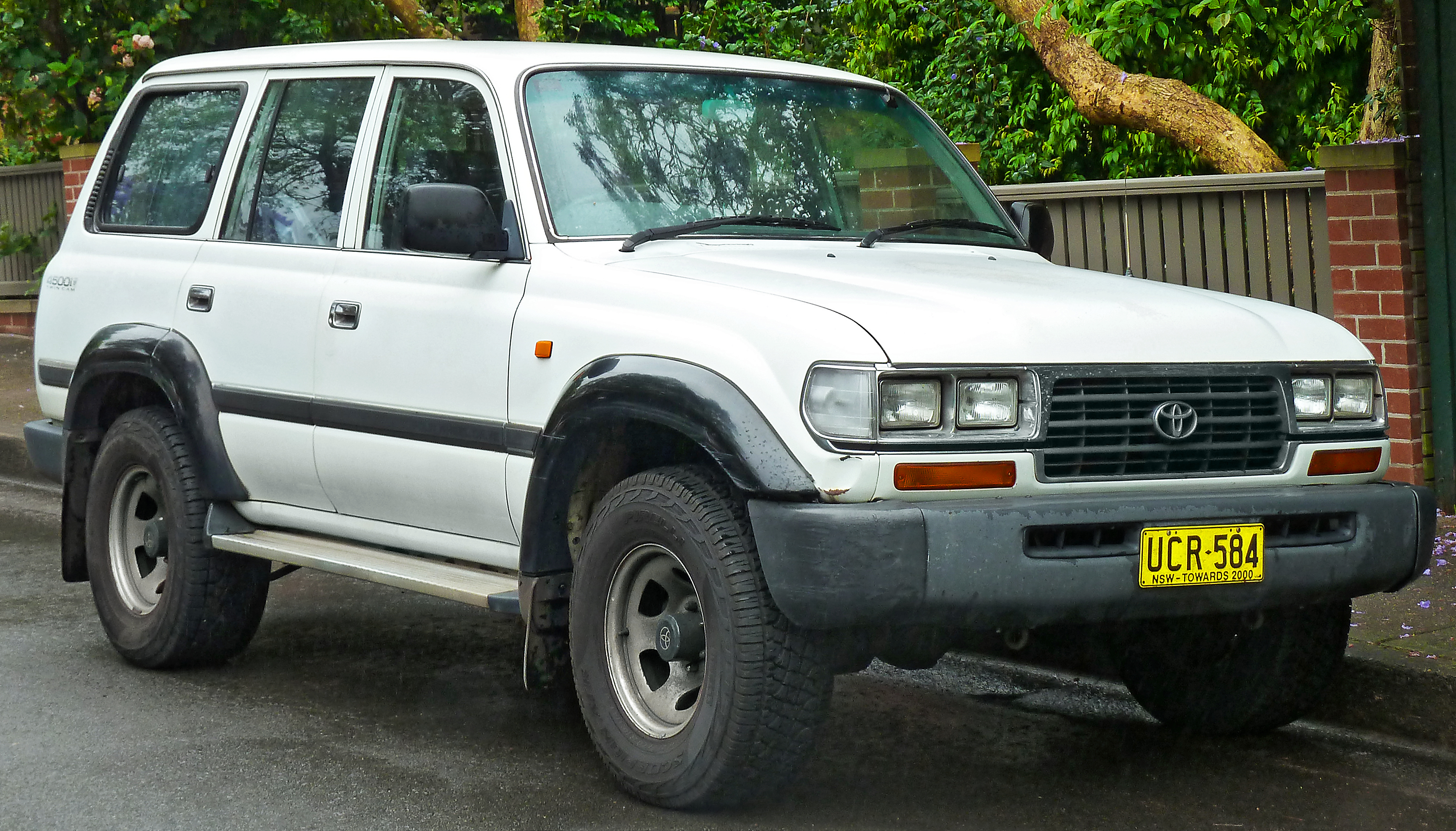1995 Toyota Land Cruiser #1