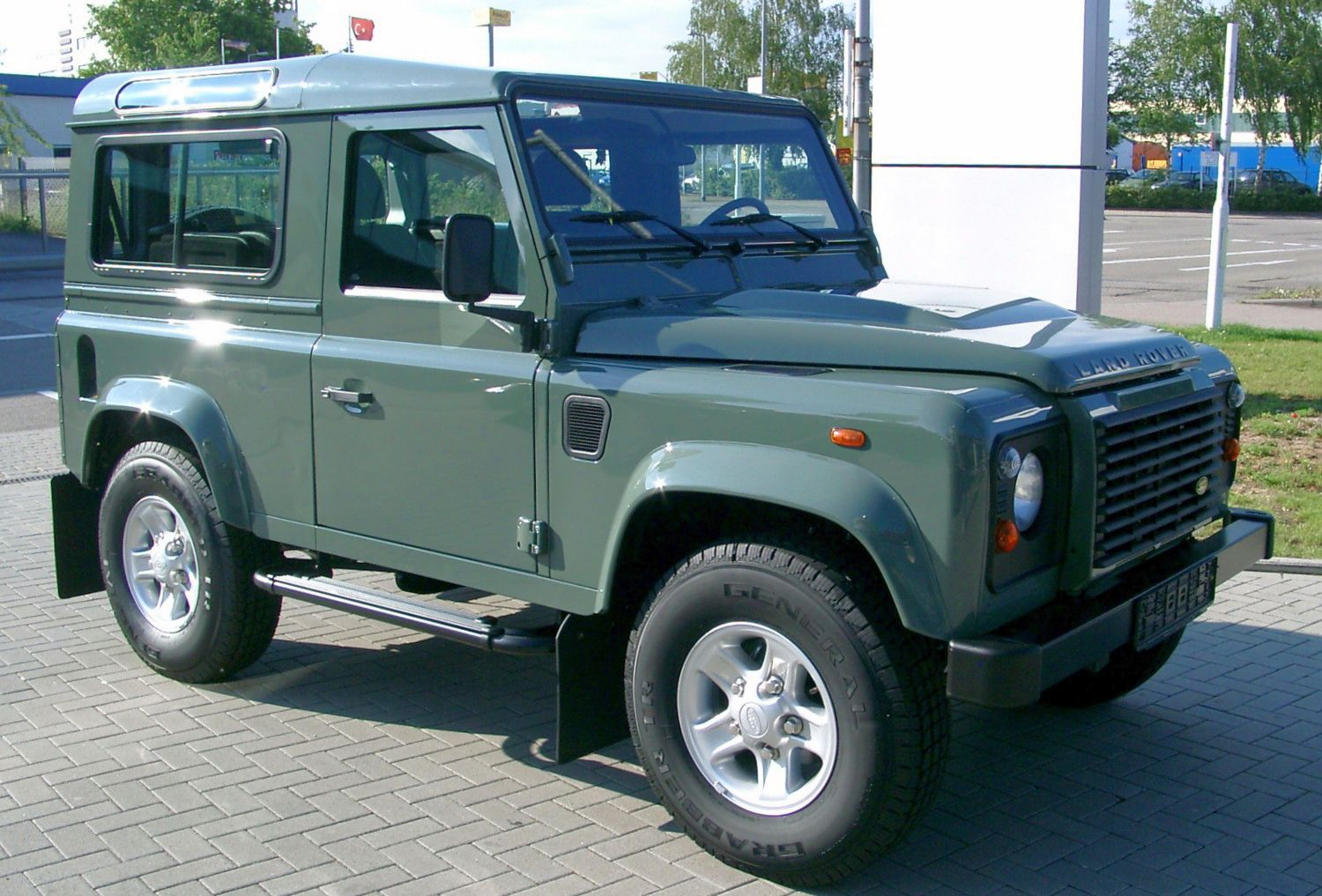 1994 Land Rover Defender #13