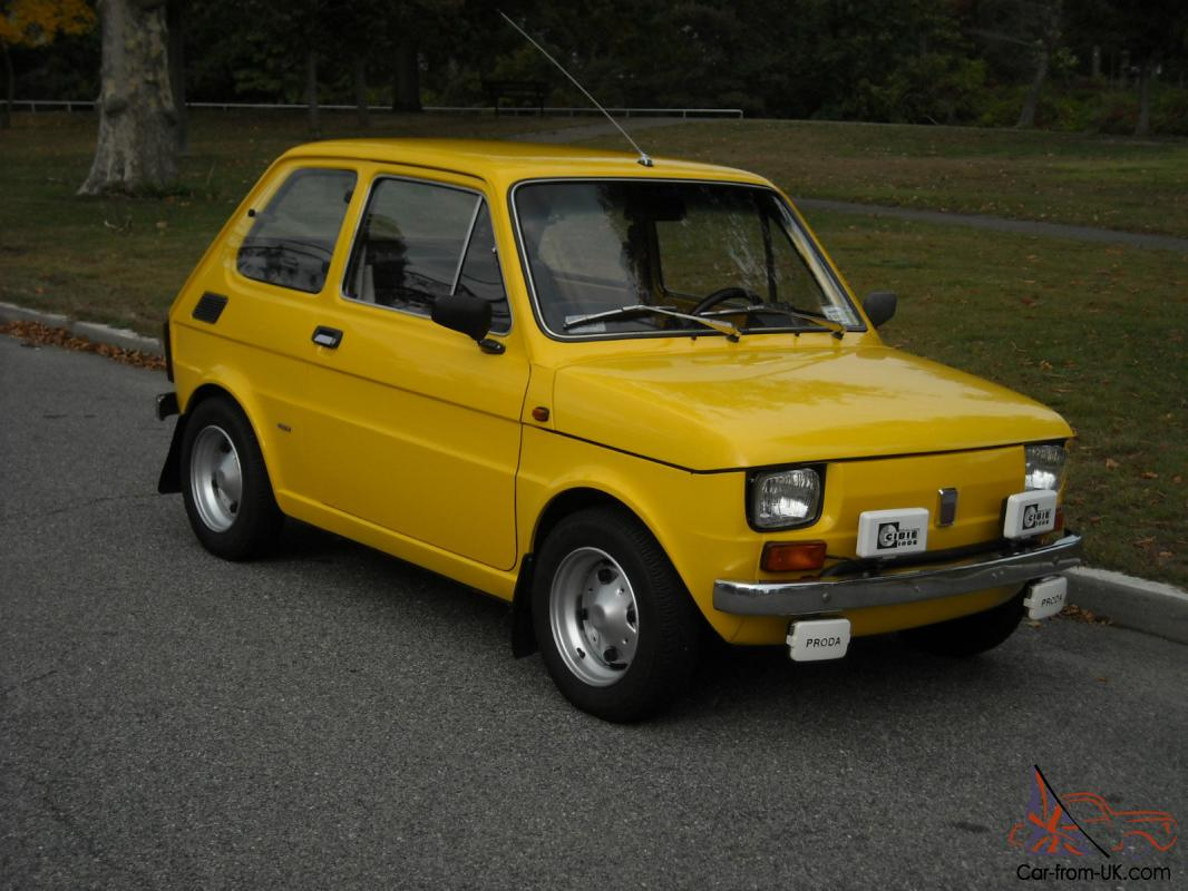 1976 fiat 126 photos informations articles. Black Bedroom Furniture Sets. Home Design Ideas