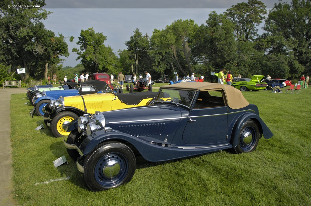 1953 Morgan Plus 4 #4