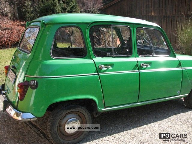 1976 Renault 4 Photos Informations Articles Bestcarmag