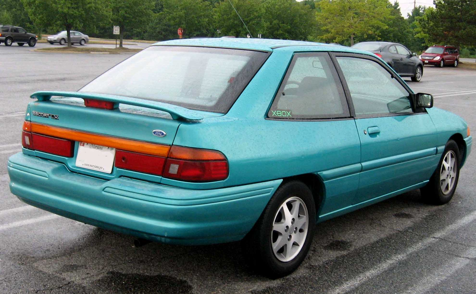 1994 Ford Tracer #8