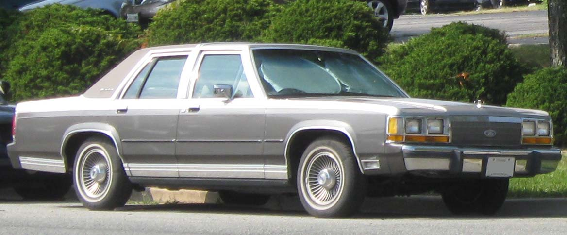 1991 Ford Ltd Crown Victoria #5