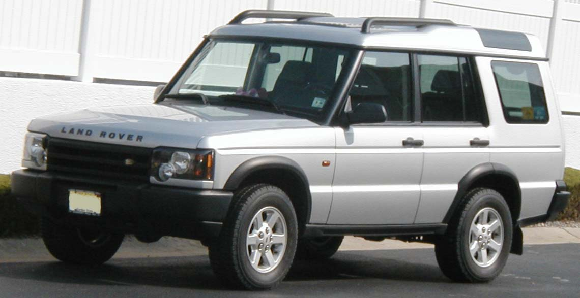 2003 Land Rover Discovery #13