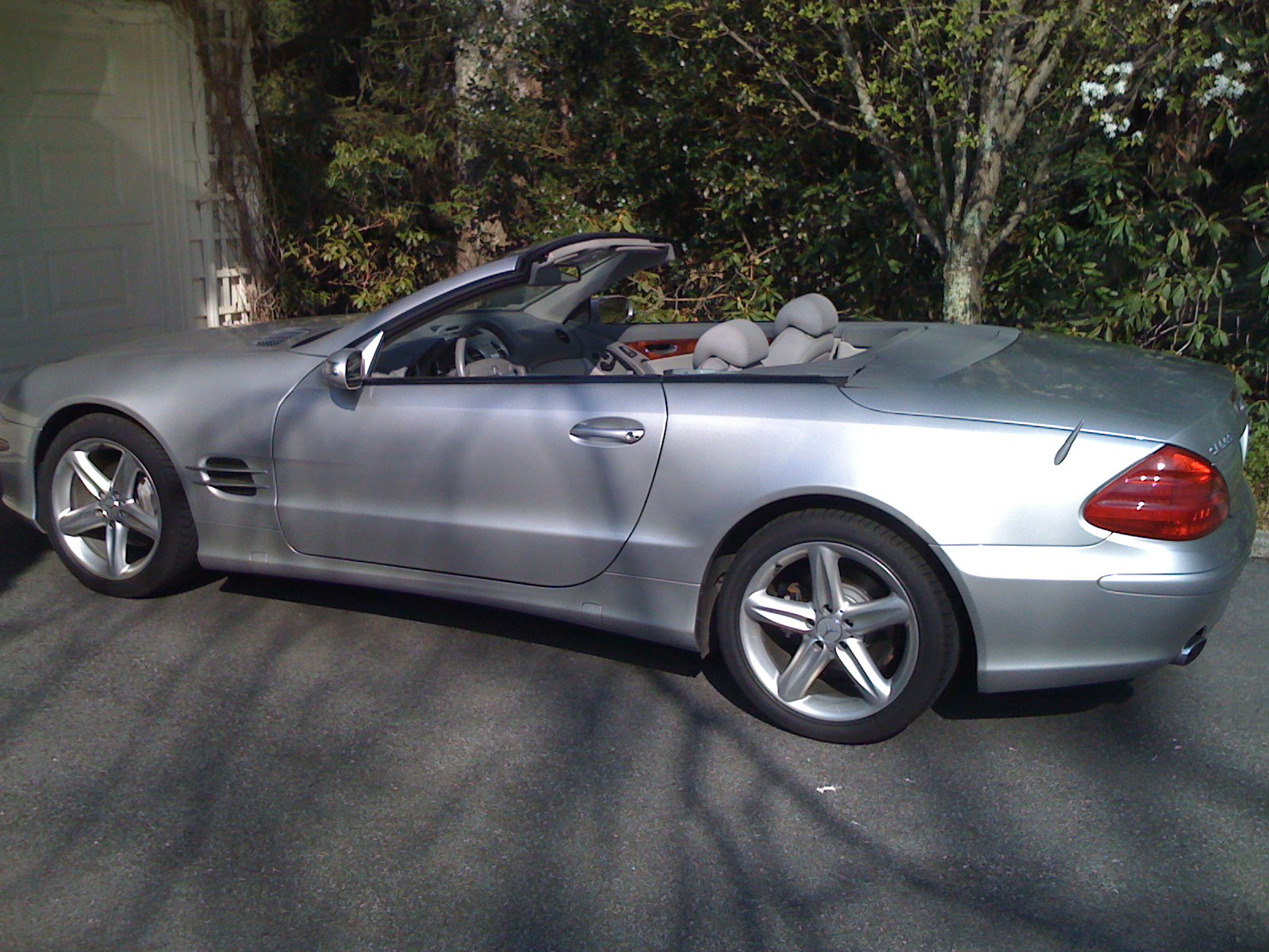 2004 Mercedes-Benz SL #16