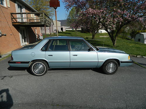1987 Plymouth Caravelle #7