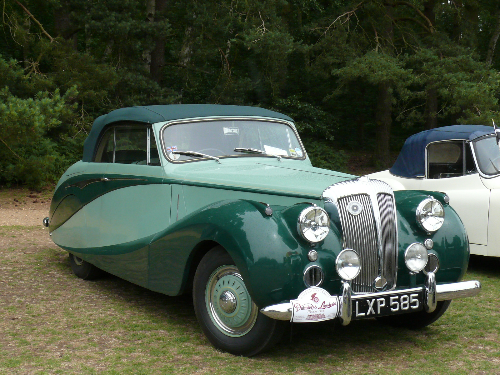 1955 Daimler One-O-Four #4