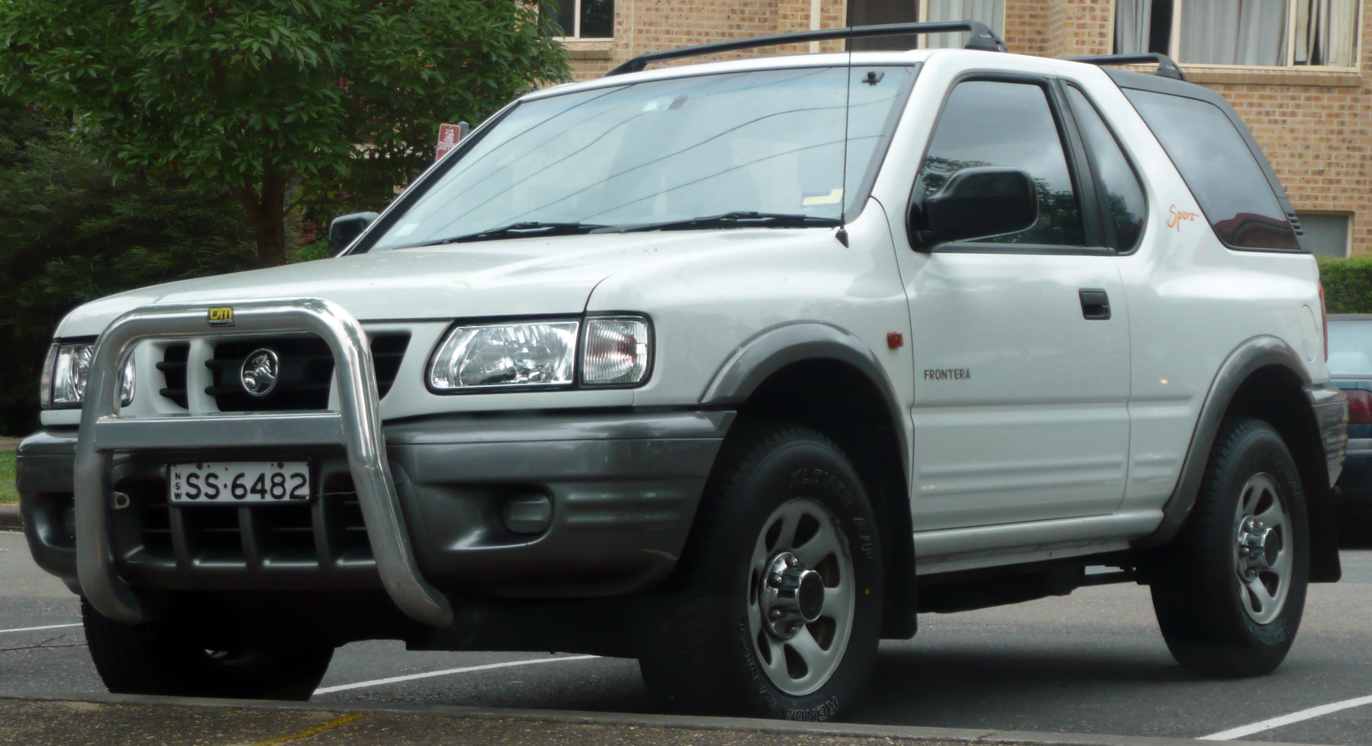 2002 Holden Frontera Photos Informations Articles