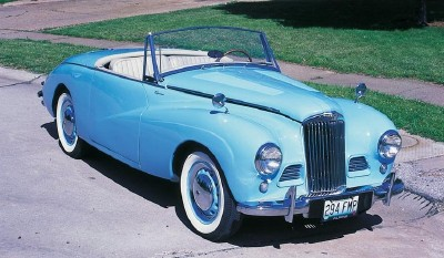1954 Sunbeam Alpine #13