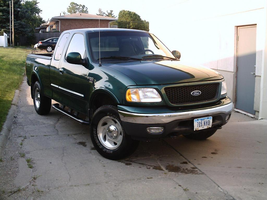2000 ford f 150 photos informations articles. Black Bedroom Furniture Sets. Home Design Ideas