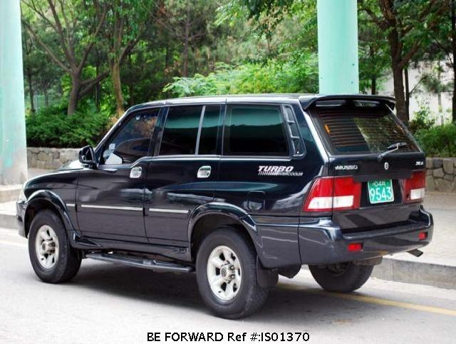 2007 Ssangyong Musso #14