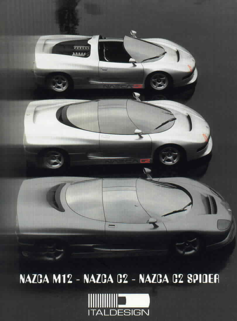 1993 Italdesign Nazca #17
