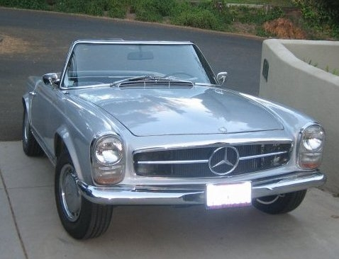 1966 Mercedes-Benz SL #10